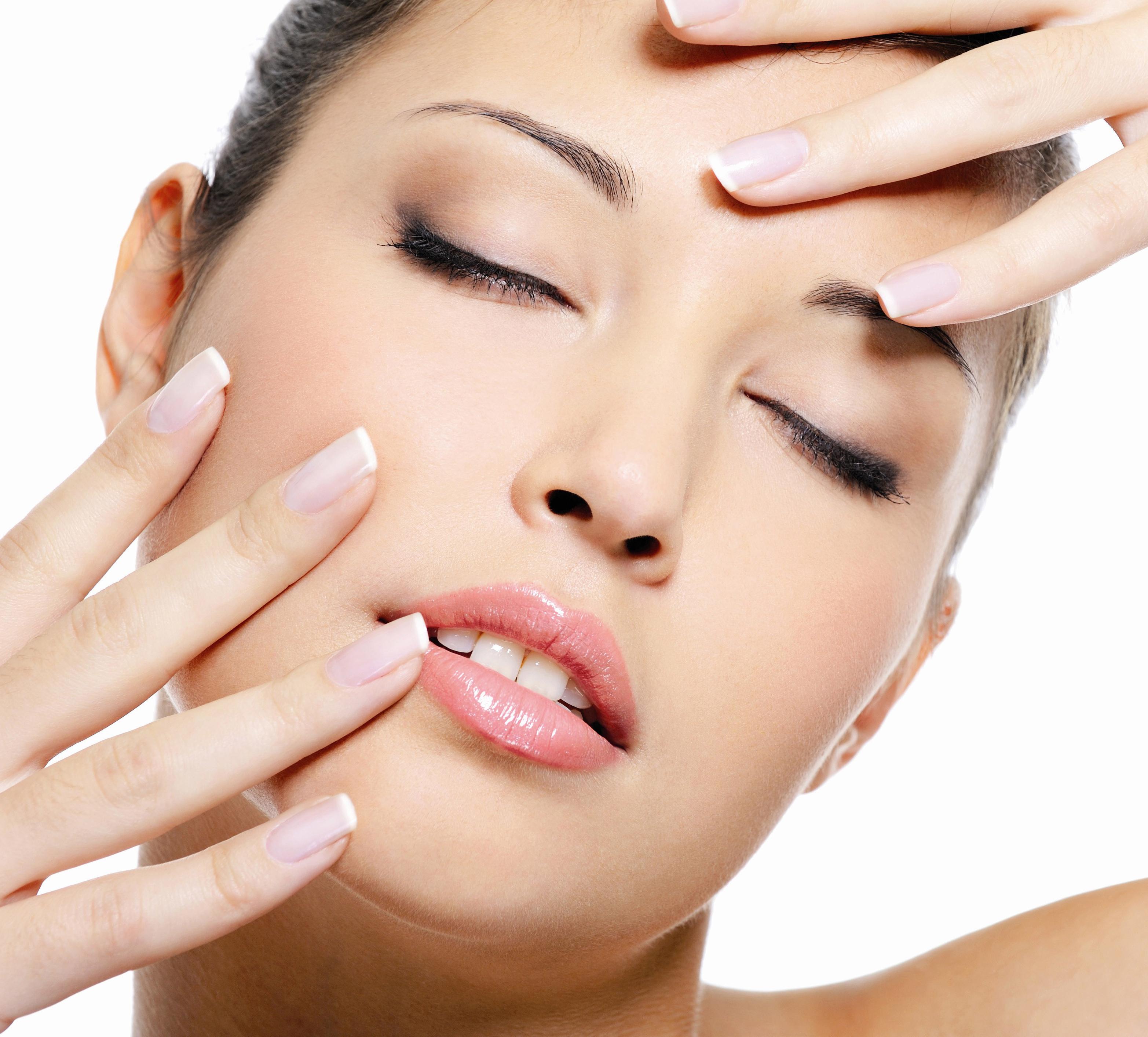 Tratamiento facial con ácido bórico para acné y